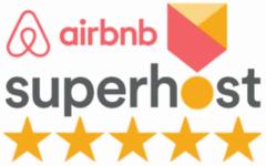 Logo Airbnb Superhost